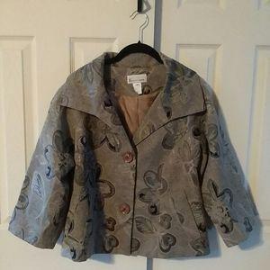 Elliott Lauren Floral Design Jacket